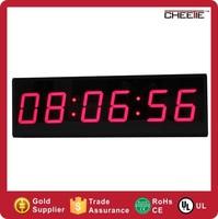 Wholesale 6 Digit Red Small Digital Clock Mini LED Countdown Timer