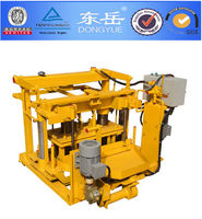 cement brick making machine/layer has breeze block occassion/layer breeze block QT40-3A DONGYUE BRAND)
