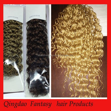 Wholesale grace hair products 100% virgin remy brazilian hair extension 3 pieces