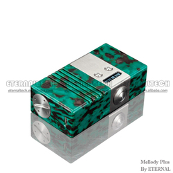 Rechargeable Battery For Electronic Cigarette, 60W TC BOX MOD Colorful Hybird Stone Mellody Box Mod