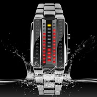 FOB Guangzhou SKME brand good quality promotion male binary Watches