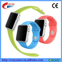 11 Colors For Apple Watch Sports Band Silicon Rubber Strap