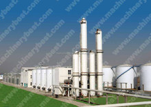 Industrial fuel alcohol ethanol distillation equipment plant with DDGS ,CO2 recovery system
