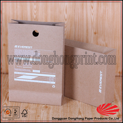 Wholesale Recyclable Custom Kraft Brown Paper Coffee Bag With Valve