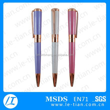MP-191New styles rose gold metal pen,metal engraved pens