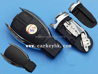 Smart key 3 button remote key shell (USA style) Without blade with battery