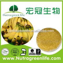 100% Natural organic green banana powder