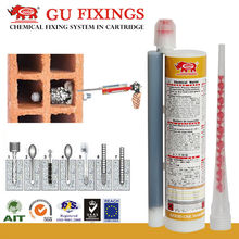 new building construction materials shrink grout vinyl resin injectable glue