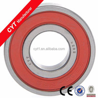 Chrome steel sealed bearing deep groove ball bearing 6203 series ball bearing suitable for bicycle/motorcycle