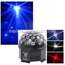 Hot sale rotating magic effect led stage lighting