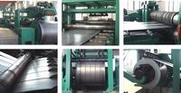 Slitter machine for cutting steel sheet coil