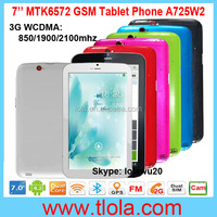 7 inch MTK8312 Dual Core Android 4.2 GPS Bluetooth Tablets with 2G Dual SIM