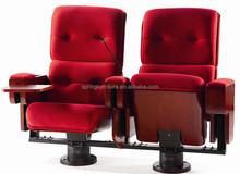 New design Theater Seating Movie Auditorium chairs Home cinema seats Black