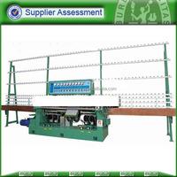 Automatic glass edge polishing machine