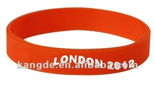 2012 London Olympic gift silicone wristband