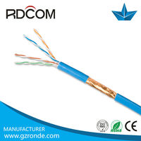 Free sample ftp indoor cat5 cable 23/24/26/28 awg weight copper cable