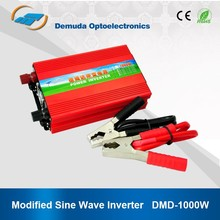 1KW 12v 220v inverter Hot sale dc to ac inverter for computer and latop DMD CE Compliant