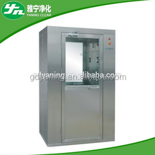 Single Person Air Shower Room made in China with low price All Full Set Stainless Steel Professionally producting the wind