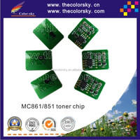 (TY-OC861) smart toner cartridge reset chip chip for OKI MC861 MC851 MC 861 851 M C861 C851 44059256 44059168 9.5K 10k free dhl