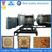 vacuum film coating machine /equipment /plant for decor ceramic tile