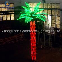 Outdoor LED Palm Tree Light /wedding decoration pillars