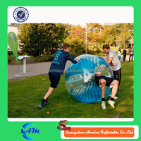 TPU 1.5 m inflatable human soccer bubble, inflatable bumper ball, bubble foot