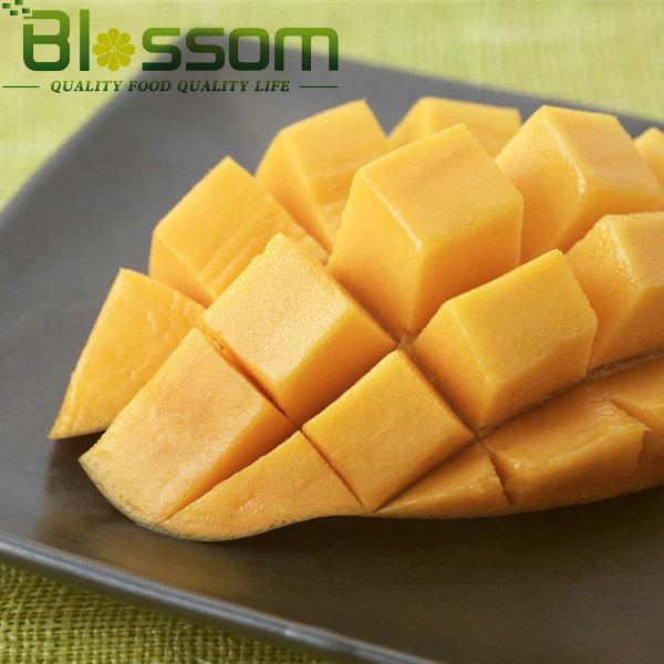 China exporter hot sale natural fruit organic farm fresh sweet frozen mango pulp