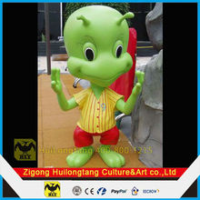 Figure of cartoon fiberglass anime statues