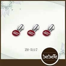 5# wafer zip custom logo zipper pull