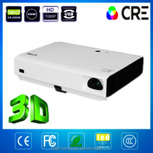 Hot new products for 2015 HDMI,VGA,Video,USB,RG45,RS232,Micro SD Card 100,000:1 Top Hot Sale 3d laser projector factory