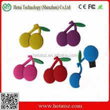 4GB 8GB 16GB 32GB cartoon fruit cherry model USB flash stick memory Pen drive