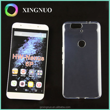 Transparent Ultra Thin Silicone Cover Mobile Phone Case for huawei Nexus 6P