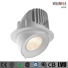 Adjustable 30W high power CITIZEN COB LED recessed downlight / fashion design LED spot down light / spot downlight R3B0205