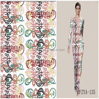 "Factory Direct Digital Printed Polyester Satin Dress Fabric 55""/57"""