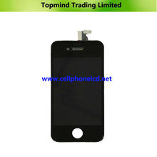 Alibaba express mobile phone white/blue/black lcd screen for iphone4
