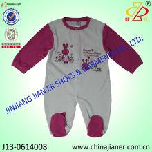 cust design bebê romper barato animal bebê bordado roupa