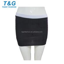 Fashion design spandex OEM sublimated cheerleading skirt