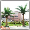 Garden decoration plastic palm trees cheap artifiical outdoor large metal palm trees for sale