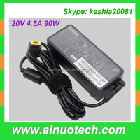 hot selling laptop adapter for Thinkpad T61 T410 20V4.5A 90W AC adaptor