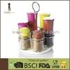 7 in 1 orbit rack classic bottle spice mill set