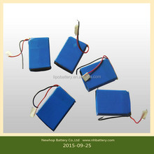 3.7V 700MAH lithium battery / special Nightlight USB rechargeable lithium battery