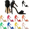 cheap price pu leather high heels sandal women 2015