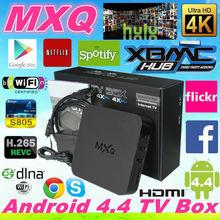 MXQ xbmc kodi amlogic s805 mxq tv box quad core android smart tv box Mx android tv box paypal escrow payment