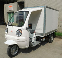 Ice Cream refrigerated containers cargo 3 wheel tricycle