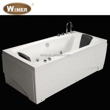 2015 one person indoor mini hydor protable cornner portable massage bathtub price
