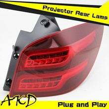 AKD Car Styling Chevrolet Cruze Hatch Back Tail Lights Cruze LED Tail Light led Rear Trunk Lamp DRL+Turn Signal+Reverse+Brake
