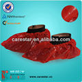 rojo cubierta médica del zapato