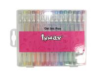 Rainbow glitter gel Ink pen set