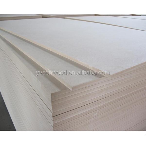 Mm thin thickness plain mdf board raw