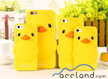 New 3D Cute B.Duck Silicone Phone Case for iPhone 6s 6 5s